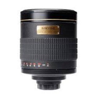 Samyang 800mm MC f8 Mirror T2 Mount Sony A Black
