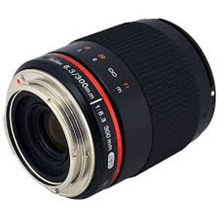 Samyang 300mm f6.3 Mirror Lens Black (Fuji X)