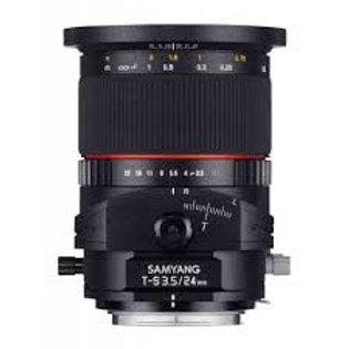 Samyang T-S 24mm f3.5 ED AS UMC (Fuji X)