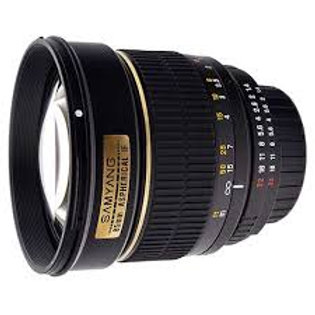 Samyang 85mm f1.4 Aspherical IF (Canon)