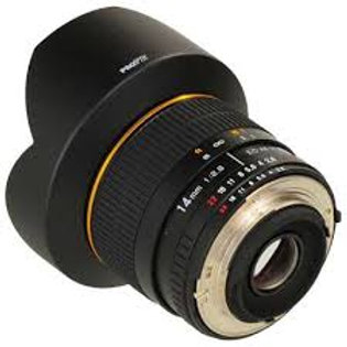 Samyang 14mm f/2.8 IF ED UMC Aspherical Micro 3/4