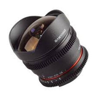 Samyang 8mm T3.8 Asph IF MC Fisheye CS (Samsung)