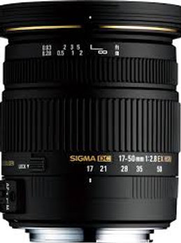 Sigma 17-50mm F2.8 EX DC OS HSM for Nikon