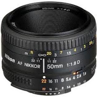 Nikon AF Nikkor 50mm f1.8D