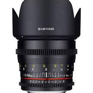 Samyang 50mm T1.5 AS UMC CINE (Sony E)