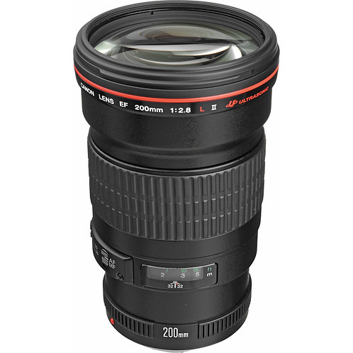 Canon EF 200mm F2.0 L IS USM