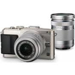 Olympus E-PL7 Twin kit 14-42mm + 40-150mm Silver
