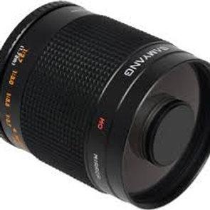 Samyang 800mm MC f8 Mirror T2 Mount Pentax Black