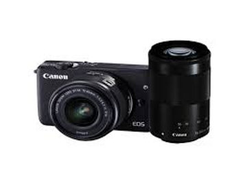 Canon EOS M10 Twin kit 15-45mm + 55-200mm Black