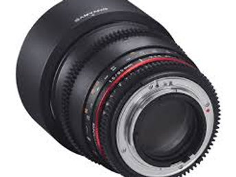 Samyang 85mm T1.5 AS IF UMC VDSLR for Pentax