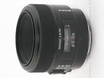 Sony 50mm F2.8 Macro Lens