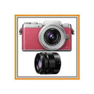 Panasonic GF7W Twin Kit 12-32mm + 35-100mm f4 Pink