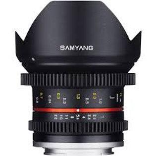 Samyang 12mm T2.2 Cine NCS CS (Fuji X)