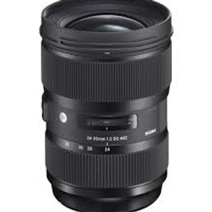 Sigma 24-35mm f2 DG HSM Art for Sigma
