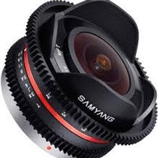 Samyang 7.5mm T3.8 Cine UMC Fish-eye (M4/3)