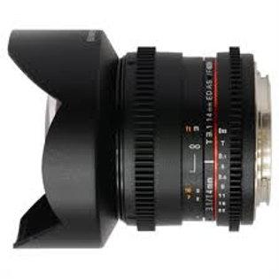 Samyang 14mm T3.1 ED AS IF UMC VDSLR Sony A-Mount