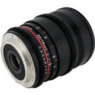 Samyang 16mm f2.0 ED AS UMC CS (Sony Alpha)