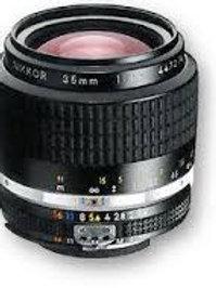 Nikon Nikkor AIS 35mm f/1.4 Manual Focus