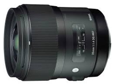 Sigma 35mm F1.4 DG HSM for Canon