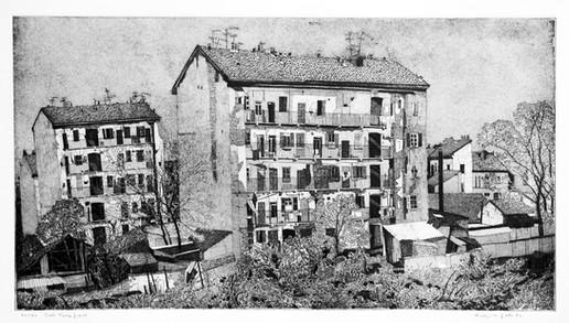 Milano, Dal terrapieno