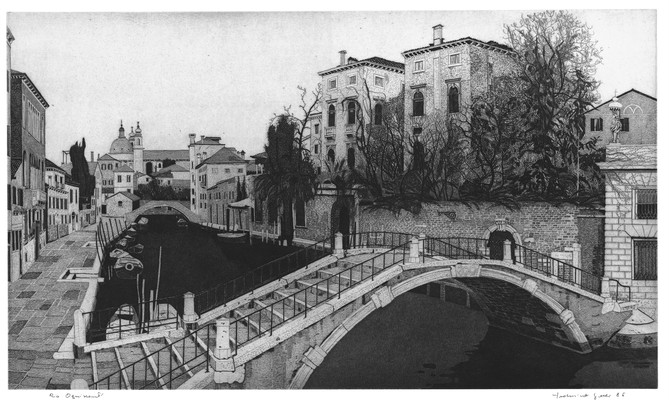 Venezia, Rio Ognissanti