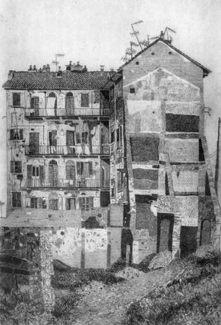 Milano, I ricordi - casa all'isola