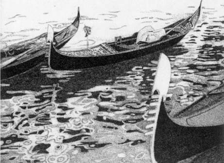 Venezia, Tre Gondole