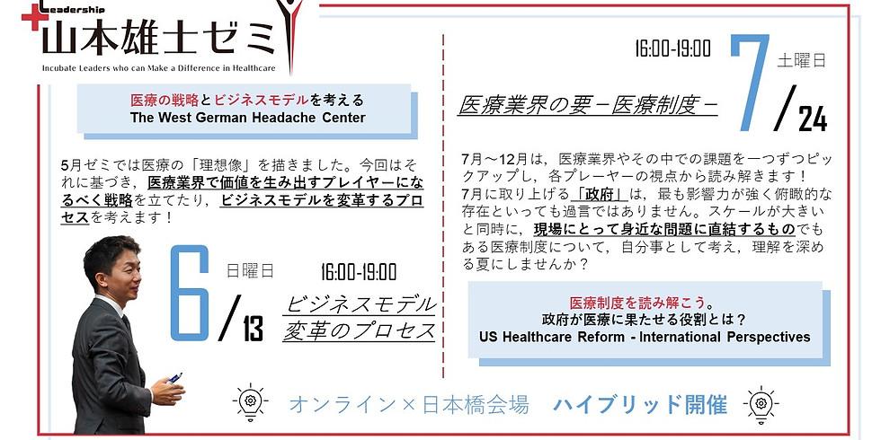 山本雄士ゼミ6月「医療の戦略を学ぼう!〜ドイツの医療機関の新たな取り組みとその成功の事例から〜」