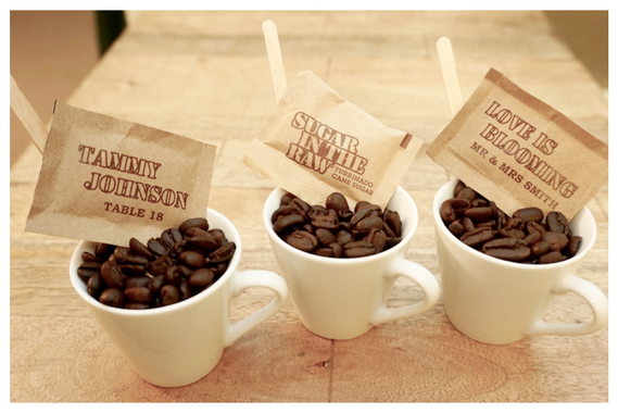 Wedding Favors - Coffee Themed