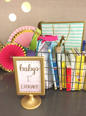 Baby Shower - Library Section