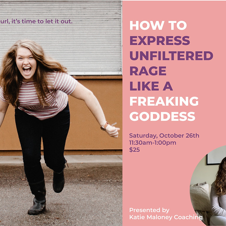 How to Express Unfiltered Rage Like a Freaking Goddess