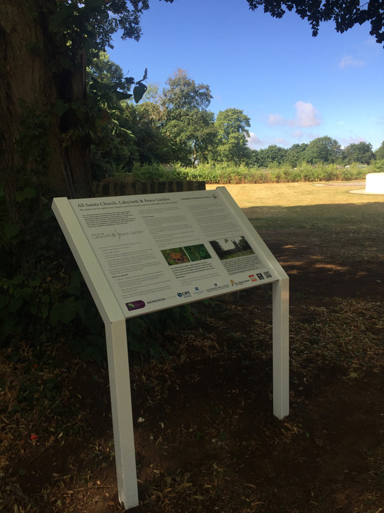 Interpretation Boards in place