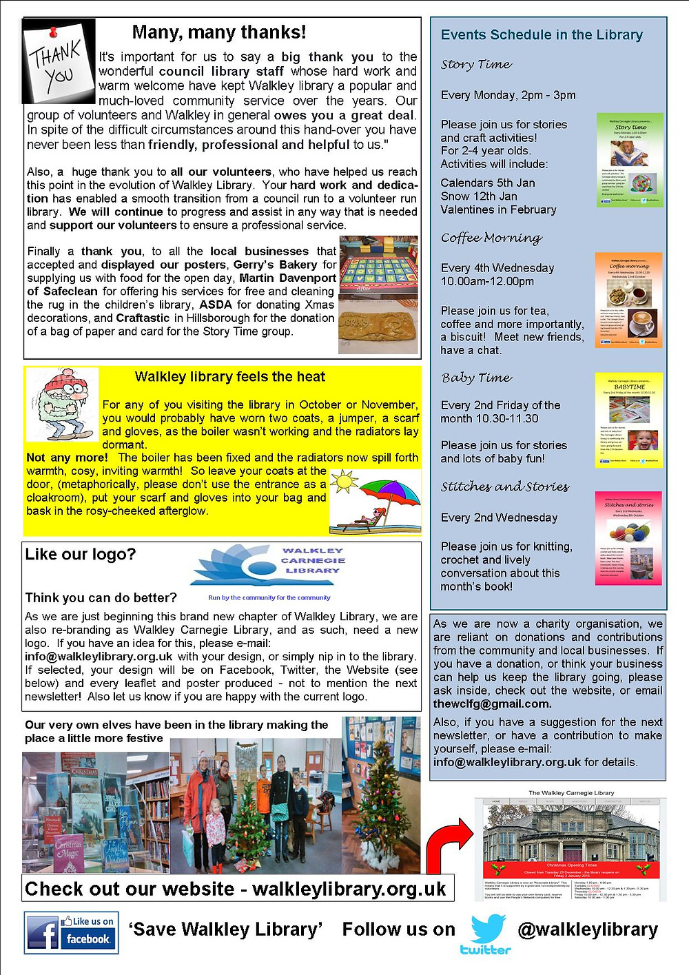 Newsletter No 1