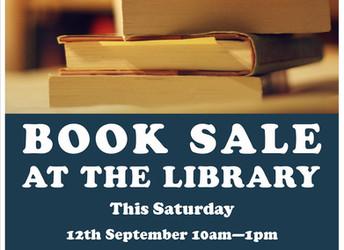 Book sale, 12/09/2015