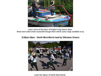 Clog Dancing, Tuesday 26 June 2018 (Walkley Festival 2018)