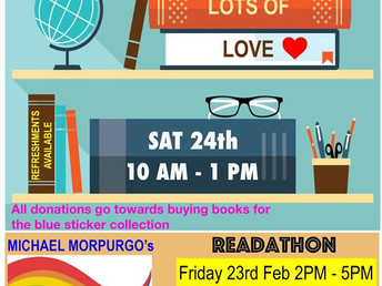 Book sale, Saturday 24 February 2018