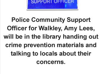 Police Community Support Officer, Saturday 20 October 2018
