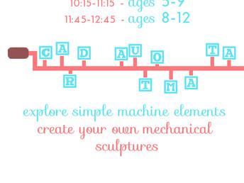 Cardboard Automata, 23 March 2016
