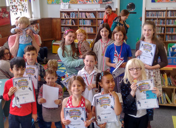 Summer reading challenge 2016: medal ceremony