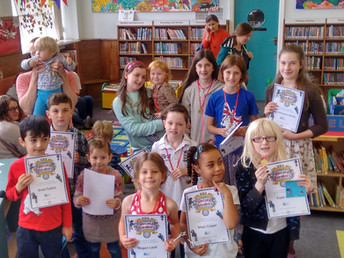 Summer reading challenge 2016: medal ceremony