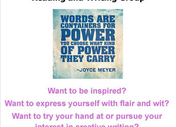Reading and Writing group at Walkley Library