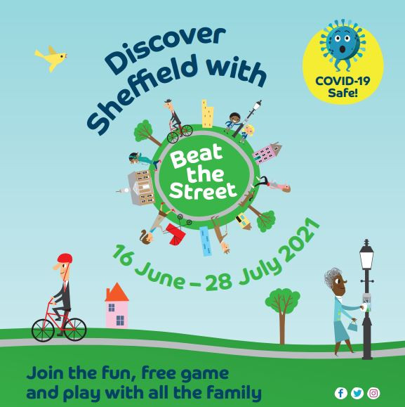 Discover Sheffield with Beat the Street competition poster