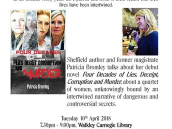 Author event: Patricia Bromley, Tuesday 10 April 2018