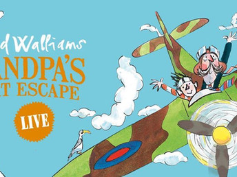Competition to win tickets for David Walliams 'Grandpa's Great Escape Live'