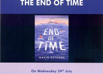Author event: Gavin Extence, Wednesday 24 July 2019