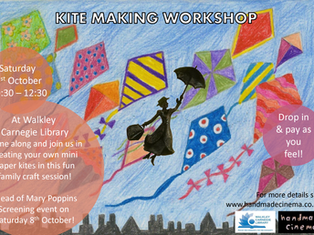 Paper kites workshop, 1 October 2016