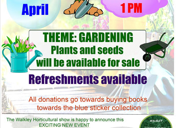 Book sale, Saturday 28 April 2018
