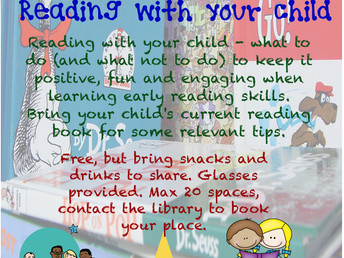 Skills for reading with your child, 30 June 2017