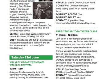 Walkley Festival 2018 - full programme