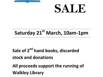 Book Sale, 21/03/2015
